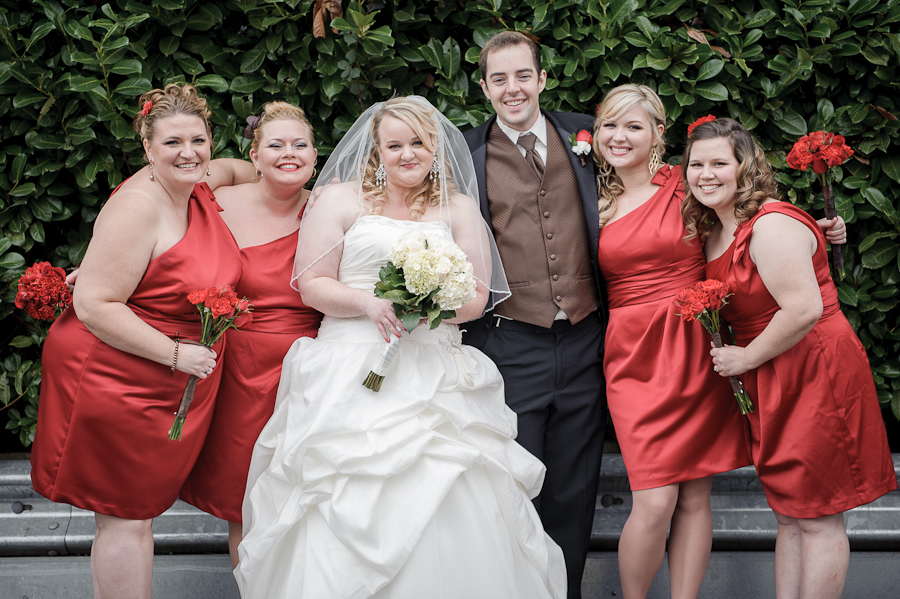 bridal party vineyard church vancouver