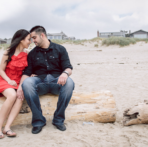 Cannon Beach Engagement: Randip & Amar