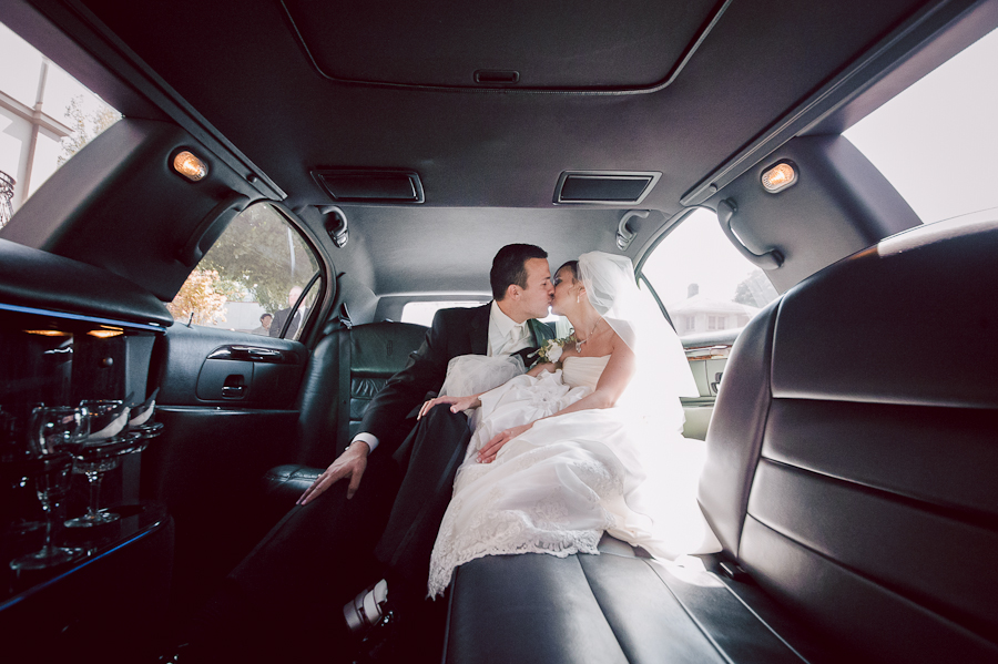 bride groom limo photo portland