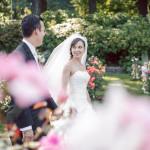 bride groom rose gardens portland