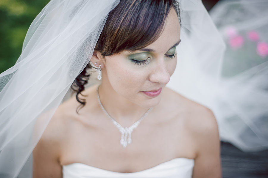 bride make up photo