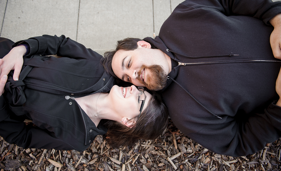 university of idaho engagement photos