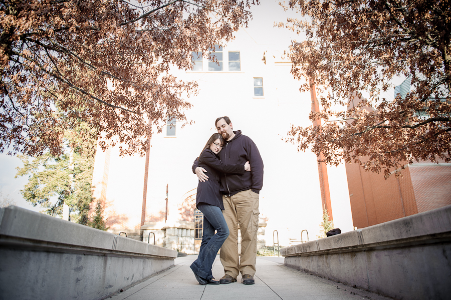 u of i engagement photos
