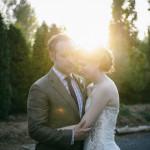 Seattle sunset wedding