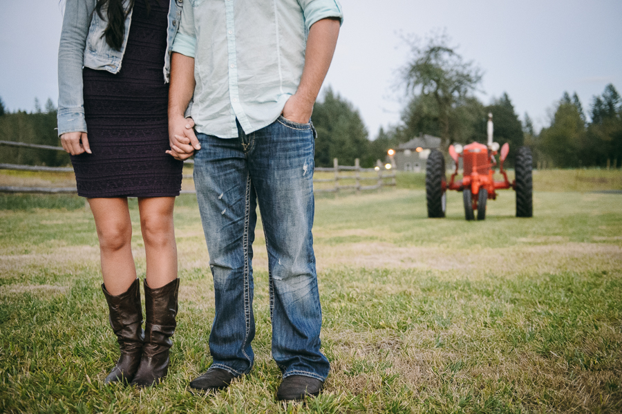 13 tractor portrait engagement