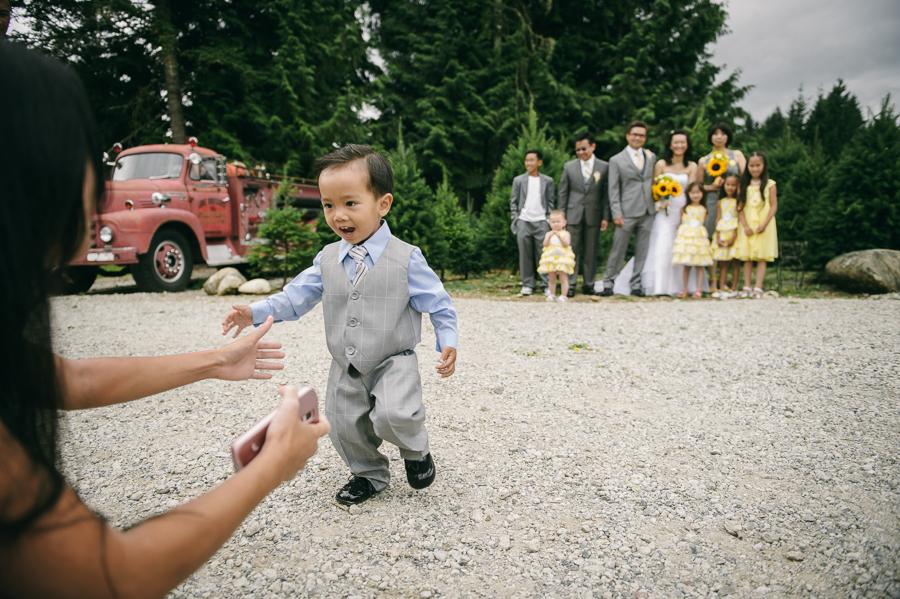 21 seattle wedding funny family photos
