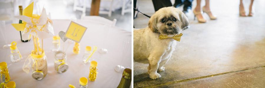 34.2 yellow wedding details