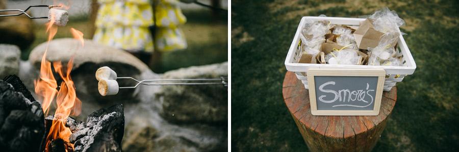 54 smores desert details seattle wedding