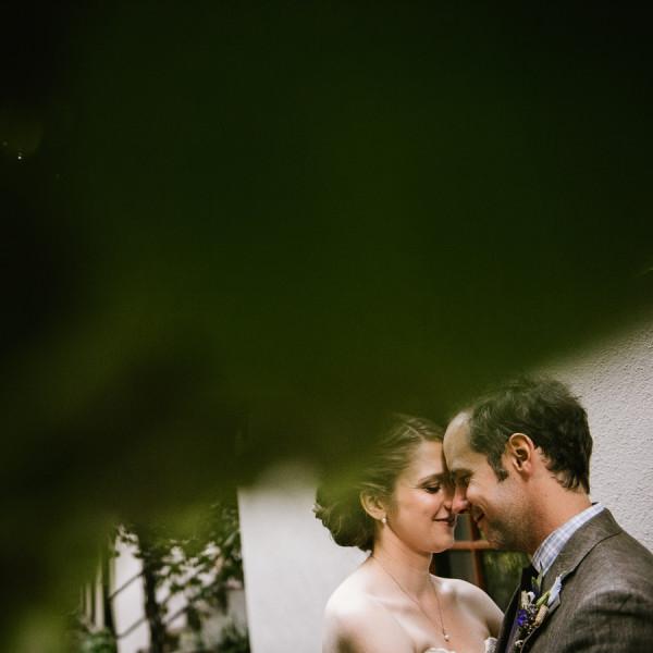 Edgefield Attic Room Wedding - Cate & Brad