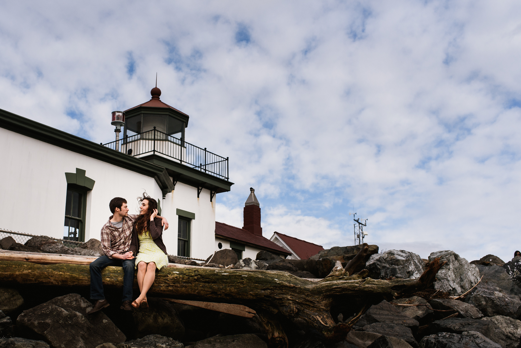 discovery park lighthouse engagement