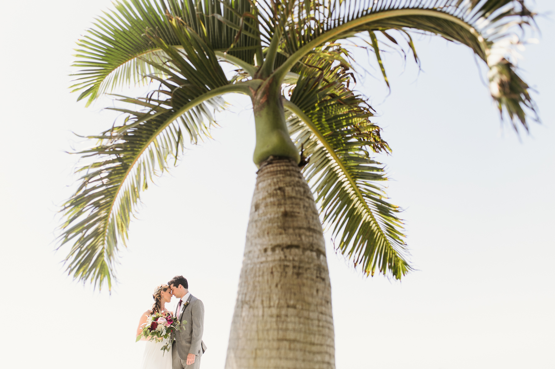 florida destination wedding portrait