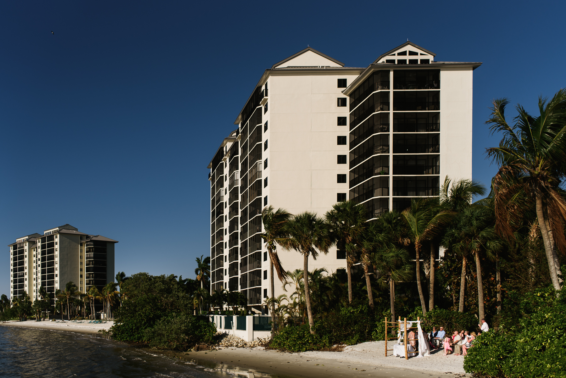 sanibel mariott resort beach wedding