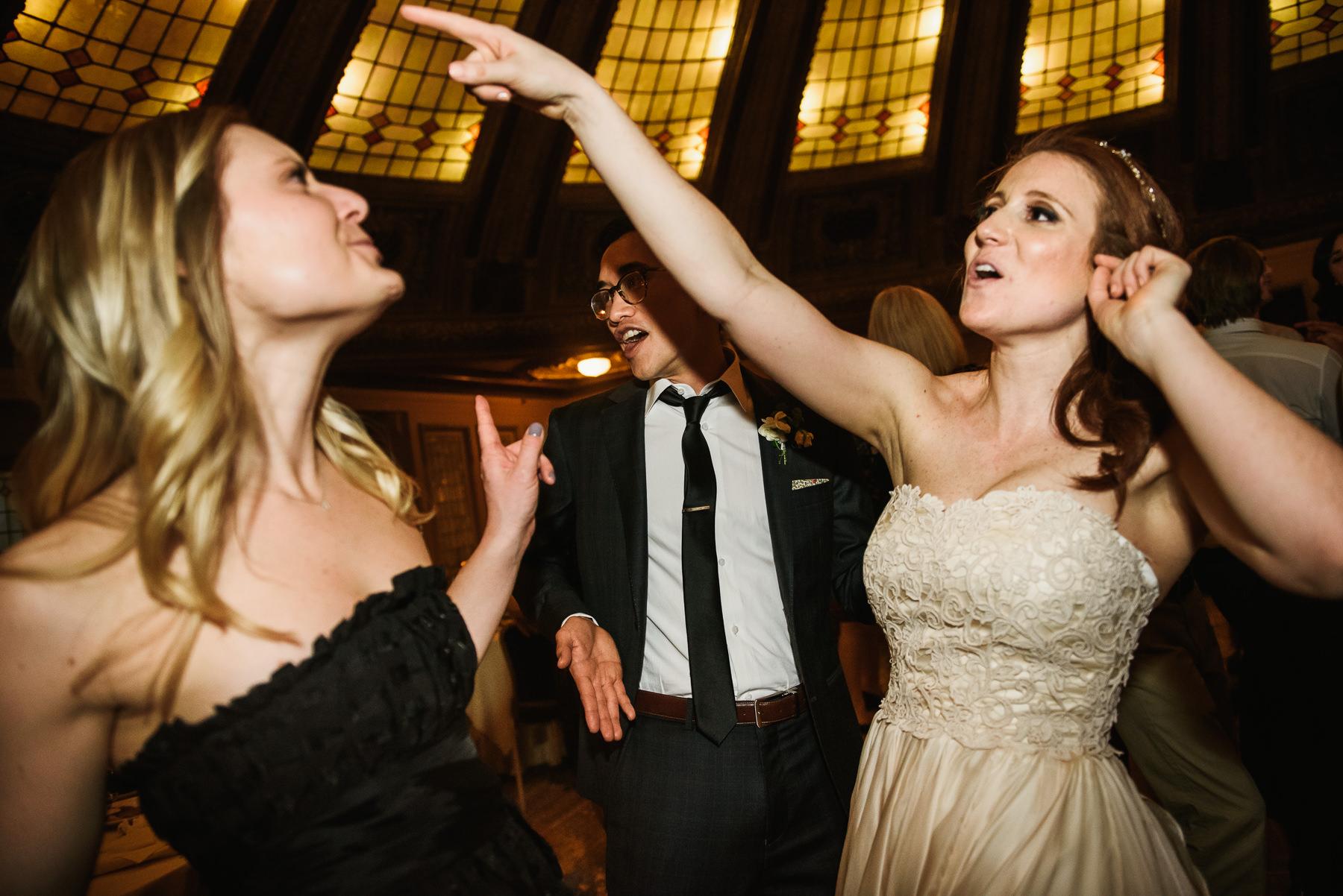 arctic club bride dance party