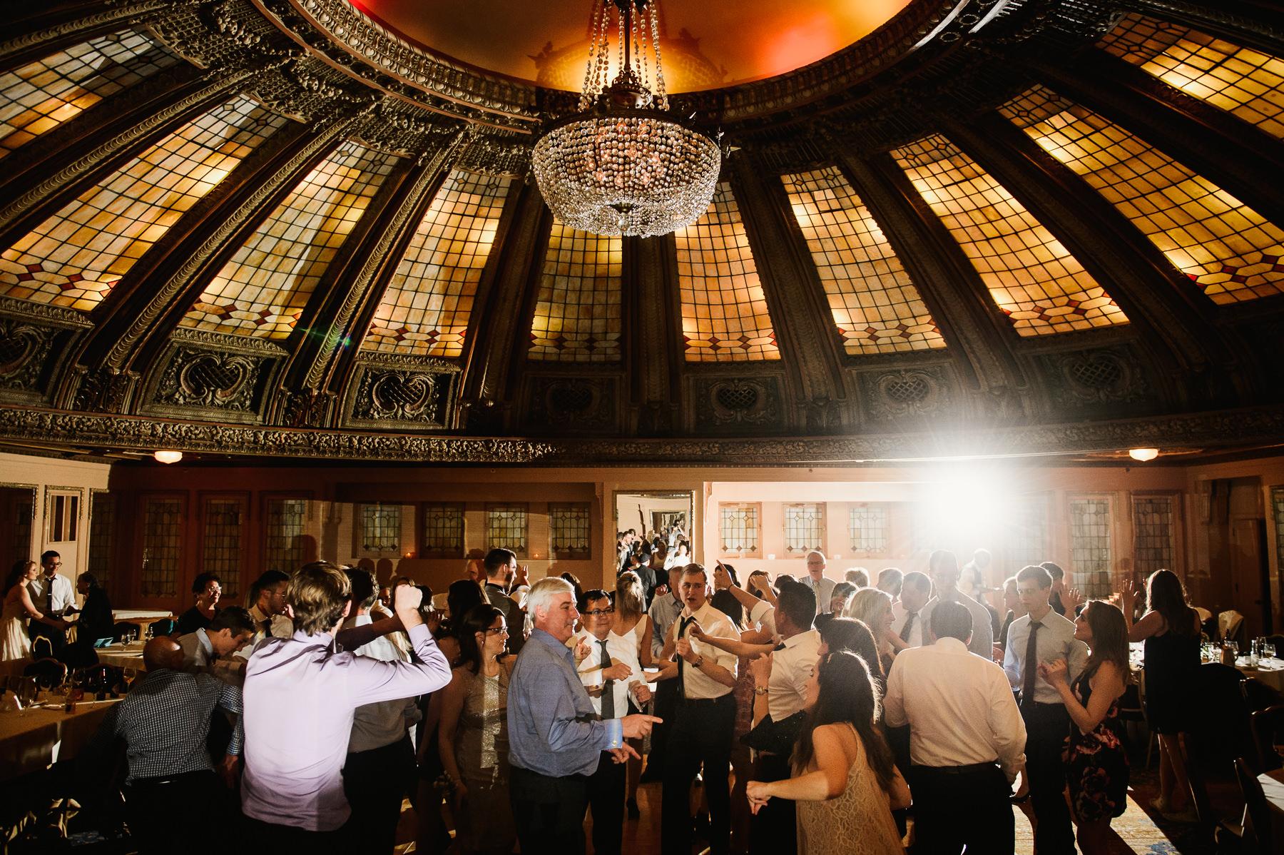 seattle elegant wedding reception