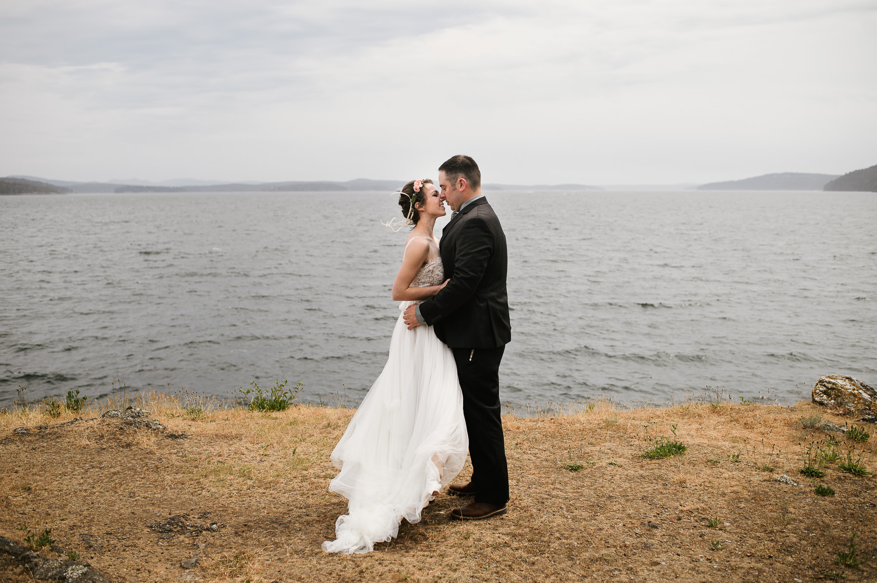 friday harbor scenic wedding