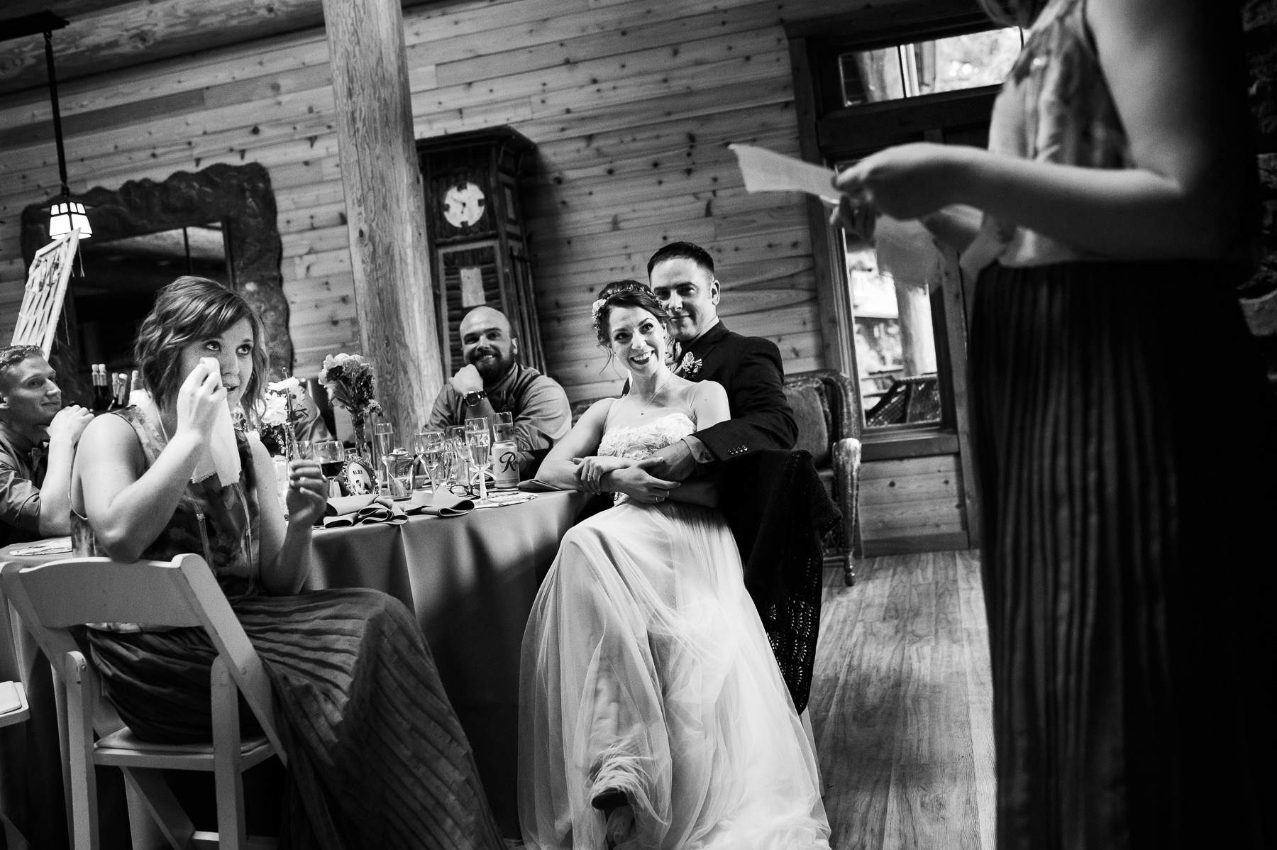 lake dale resort wedding toasts