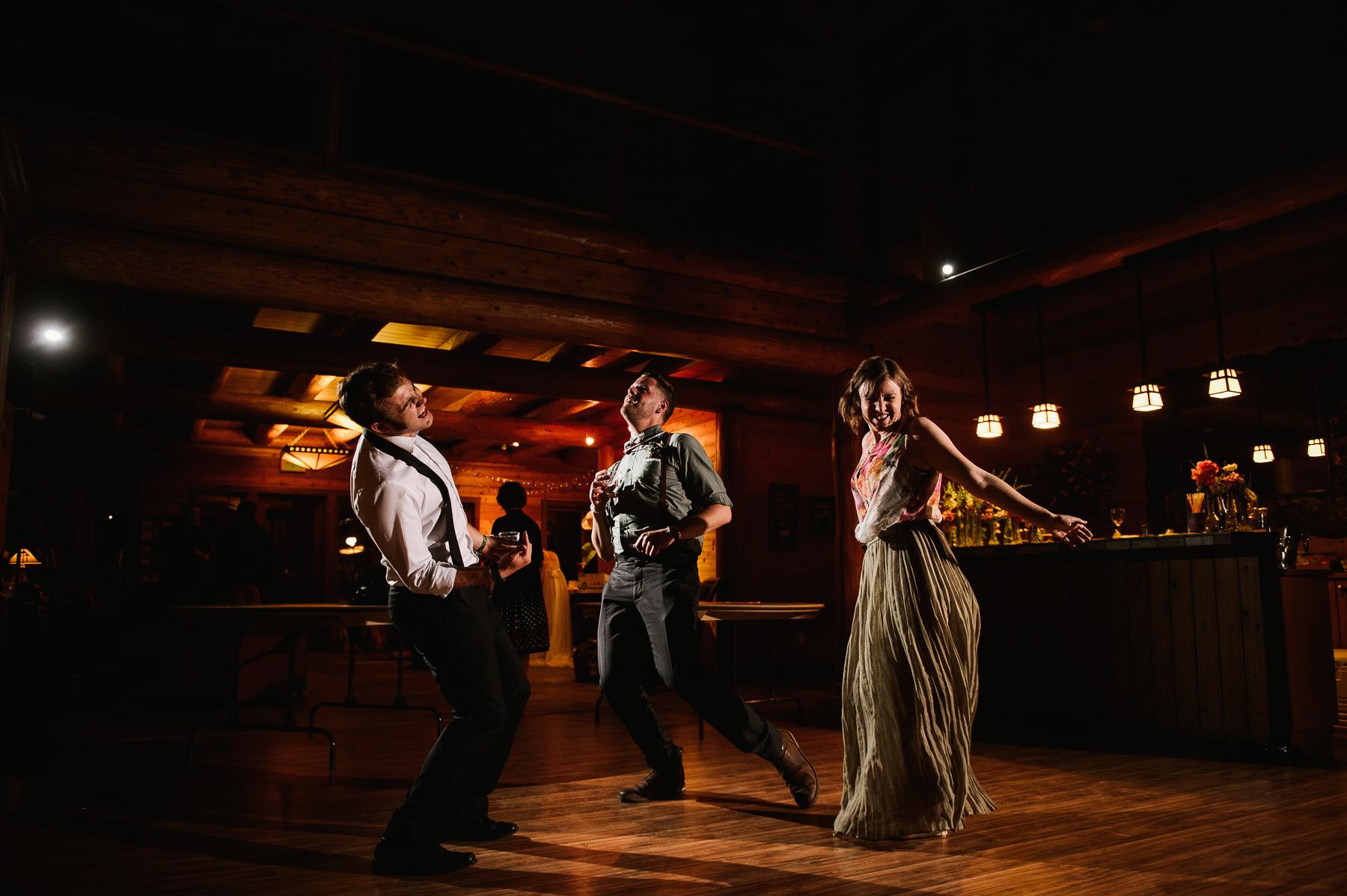lake dale resort wedding dance floor