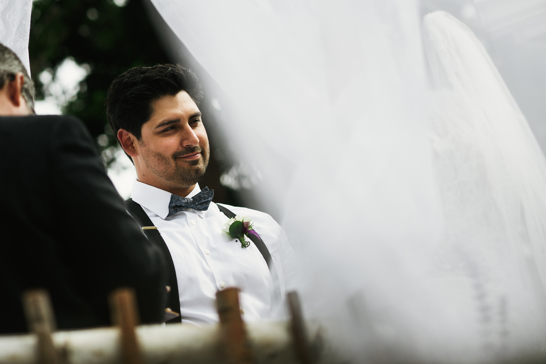 lopez island wedding groom