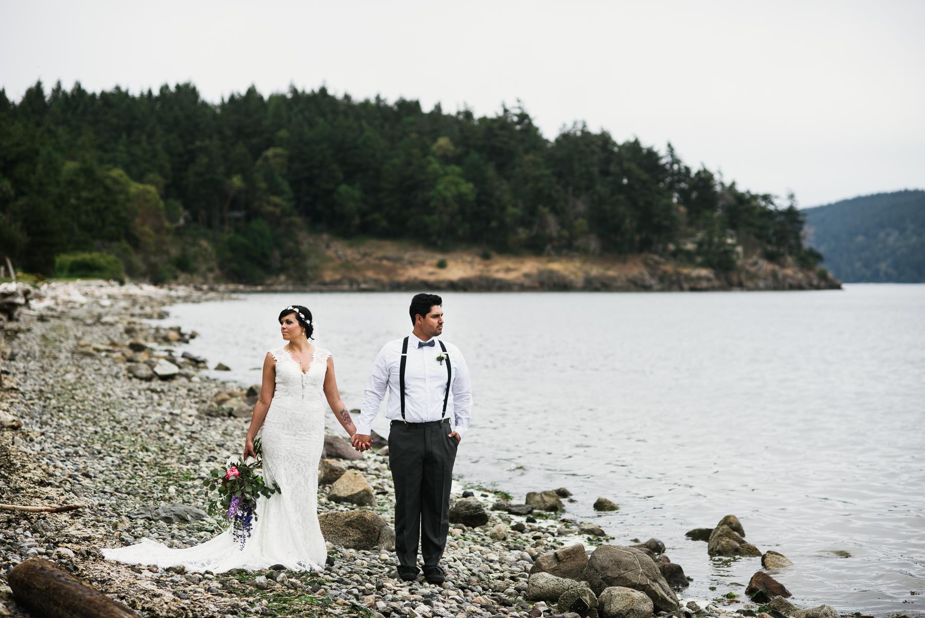 wes anderson lopez island wedding