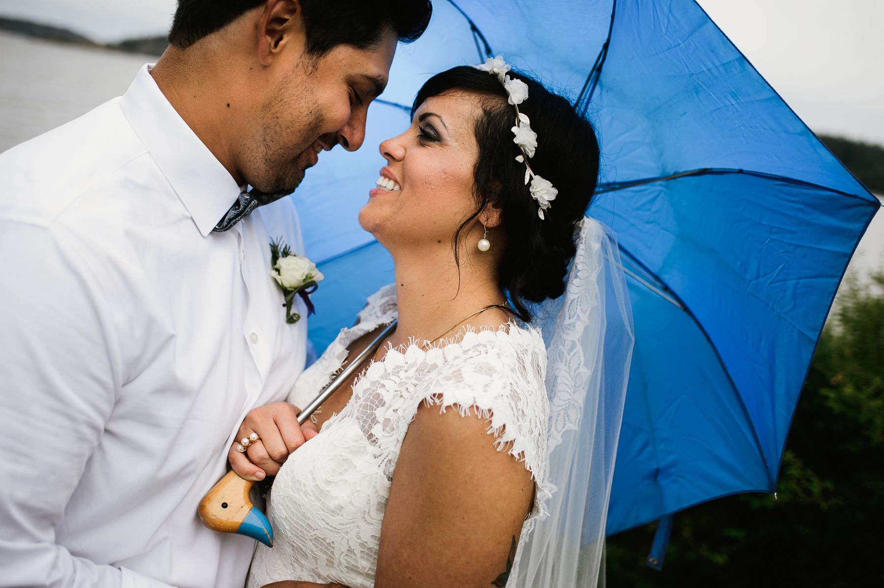 san juan island wedding photography umbrella