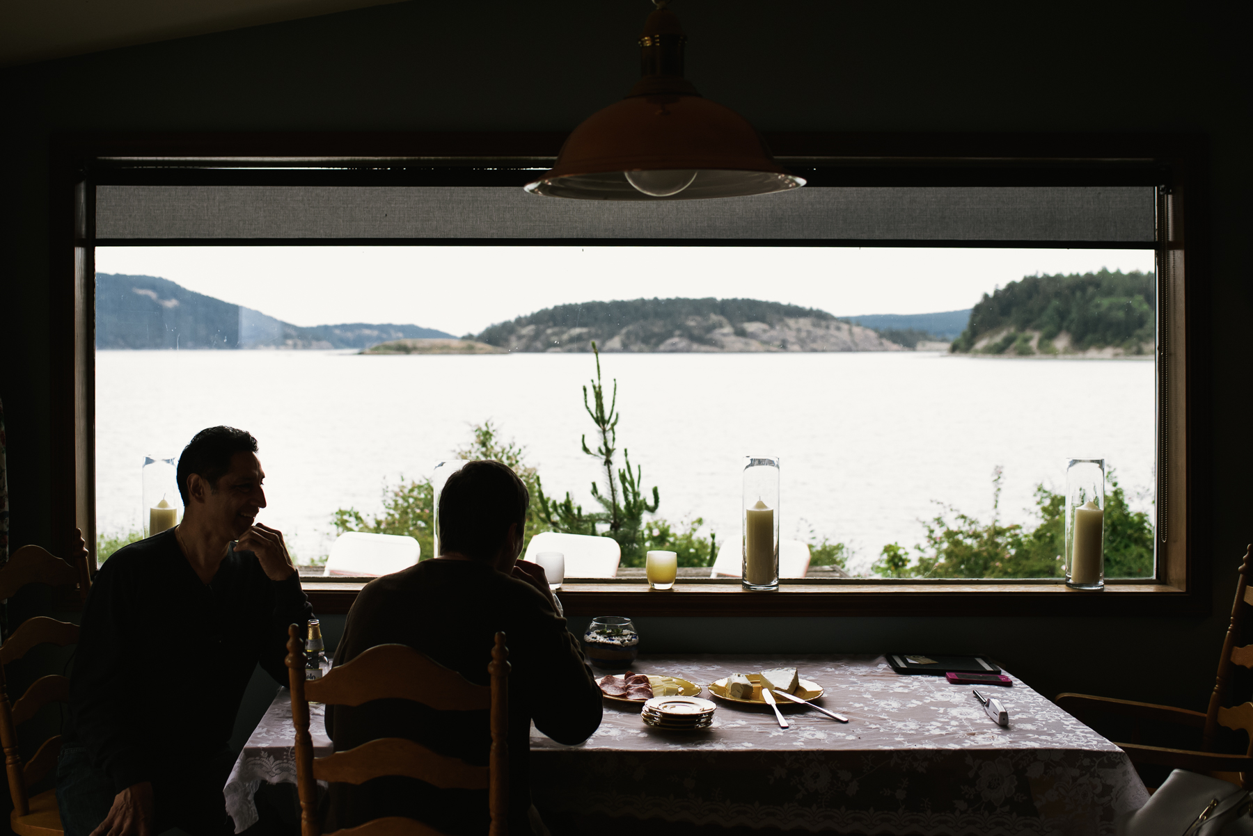 lopez island cabin views
