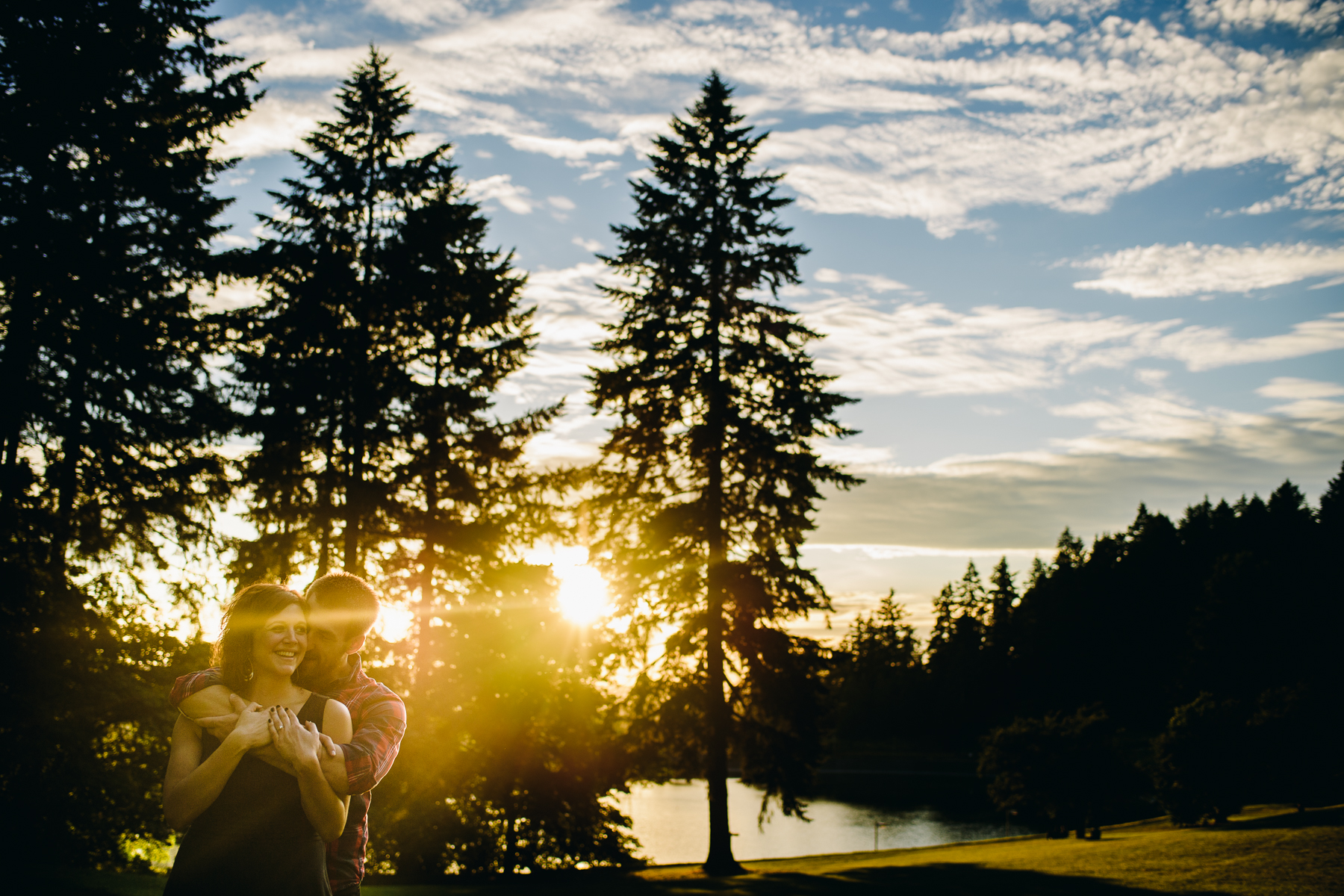 Mt. Tabor Park engagement photos