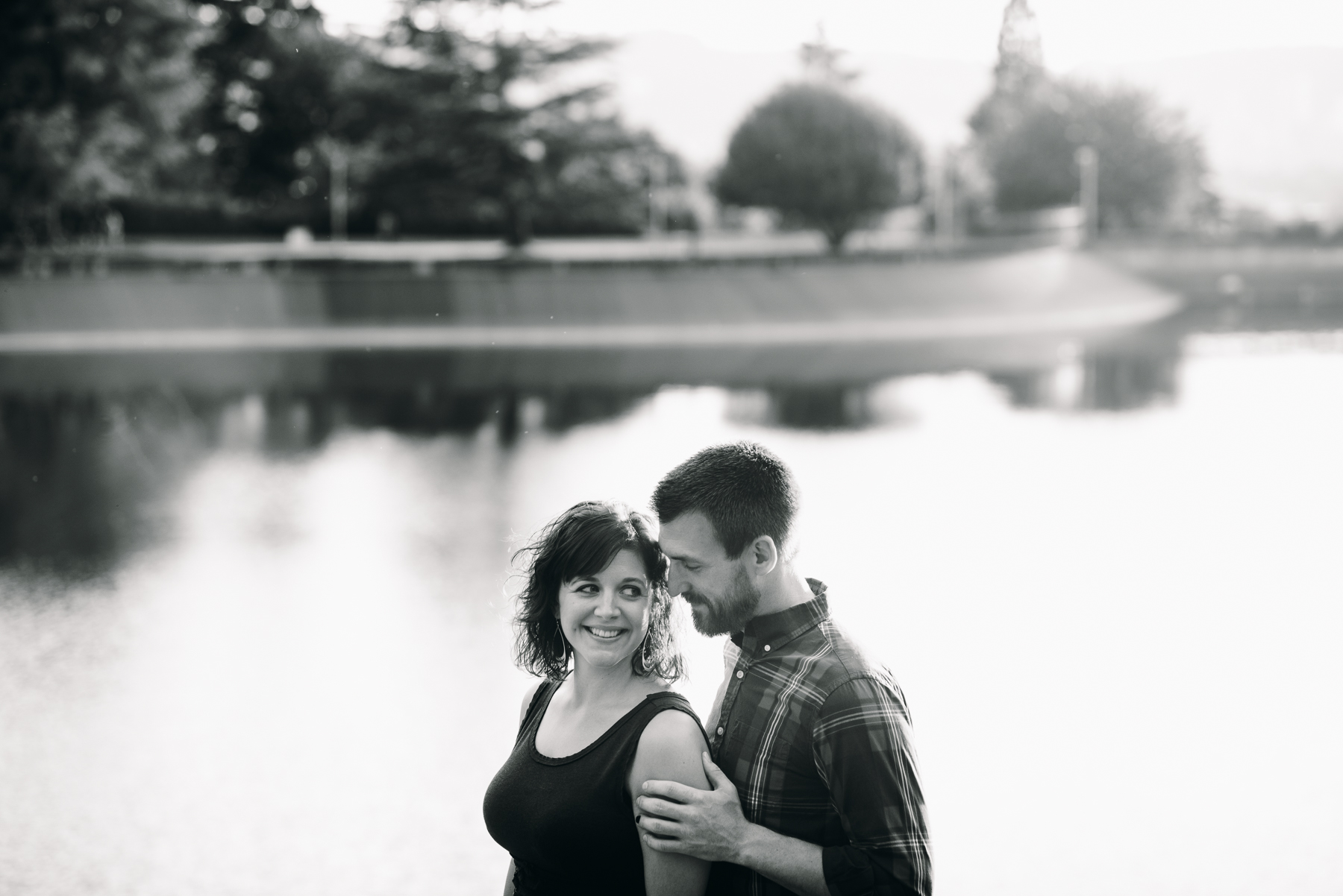 Mt. Tabor Park engagement session