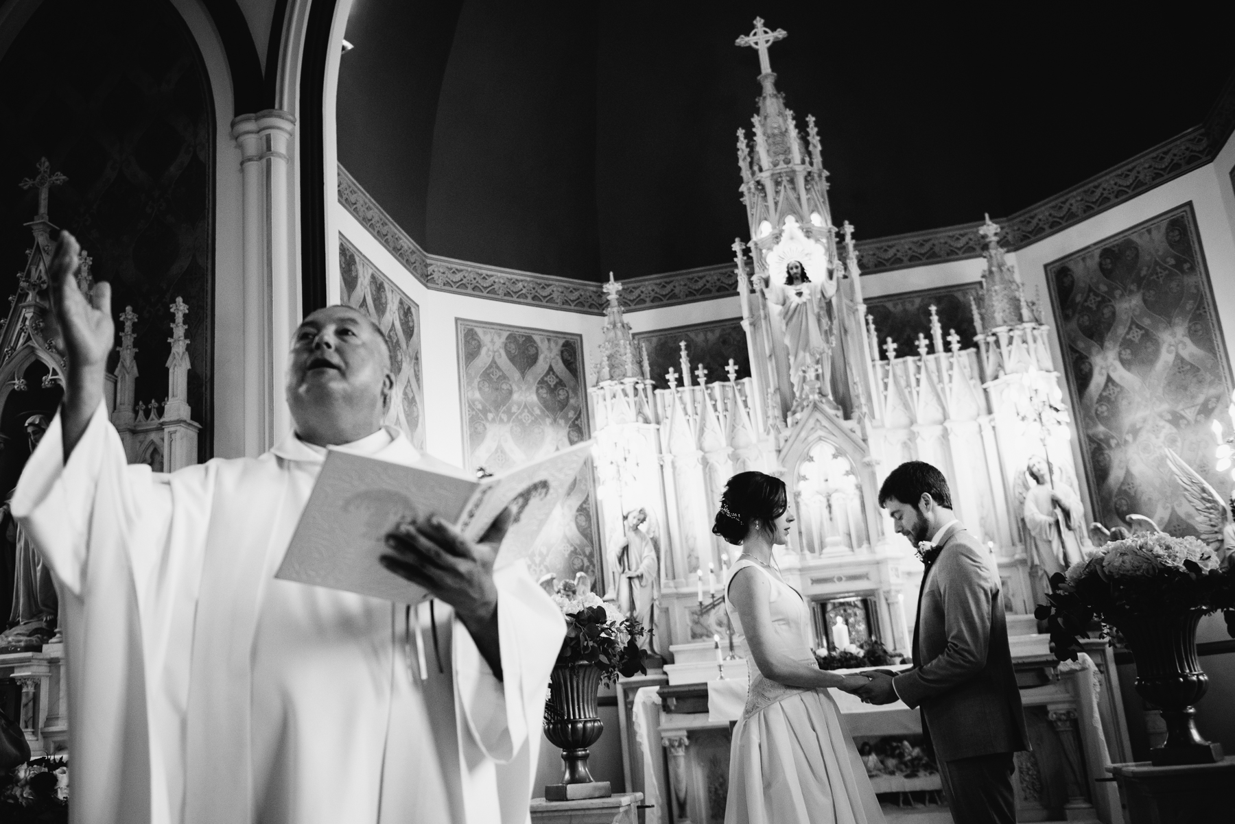 st. anne's chapel wedding ceremony vows