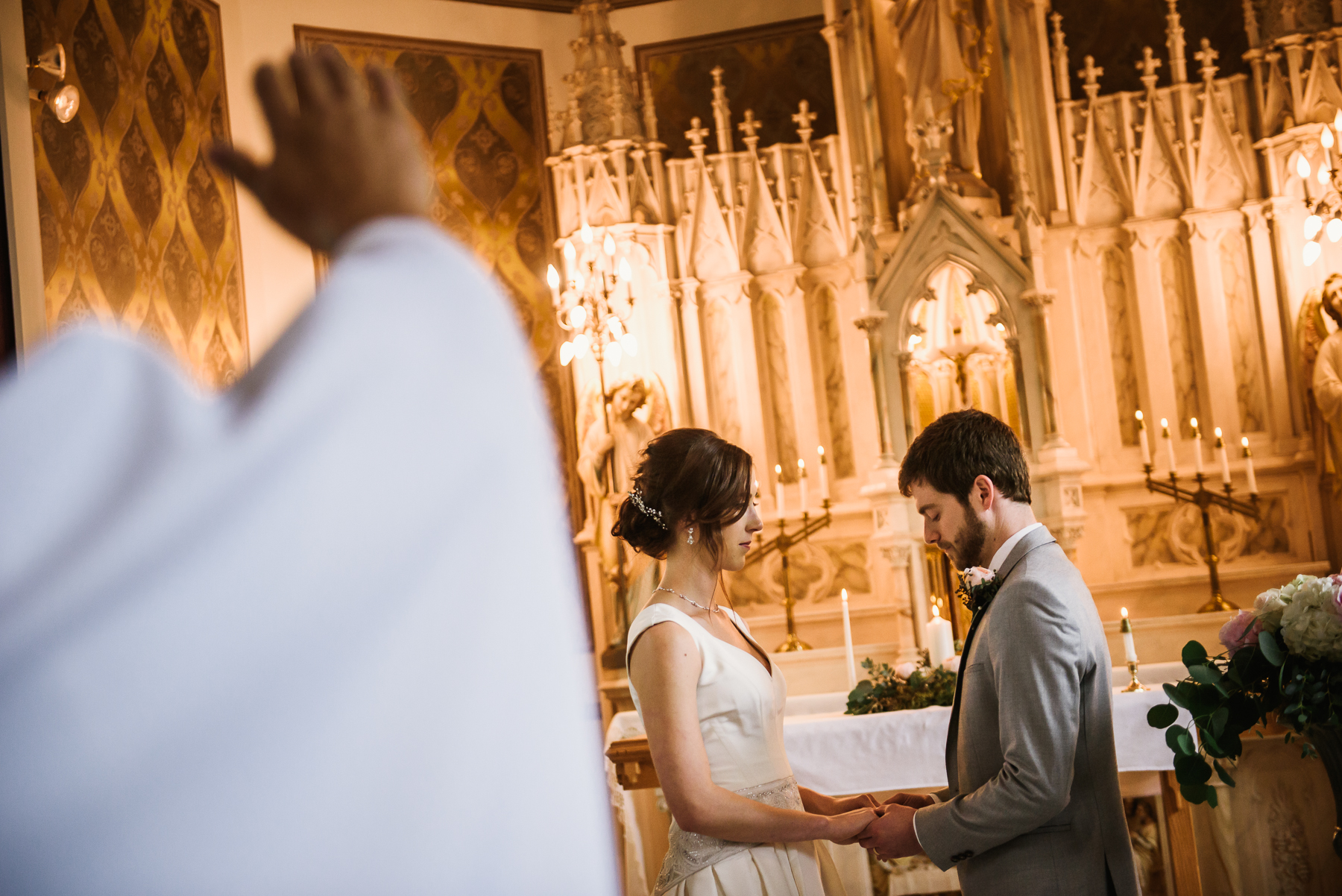 st. anne's chapel wedding ceremony