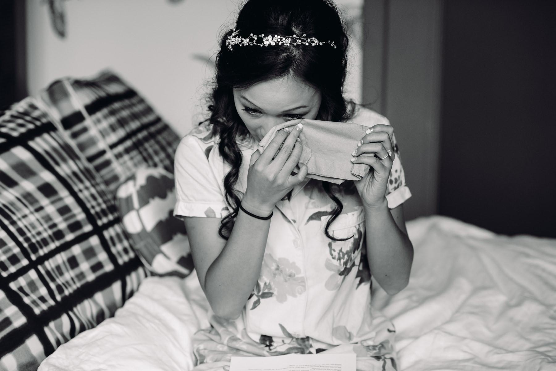 bride crying hotel monaco portland