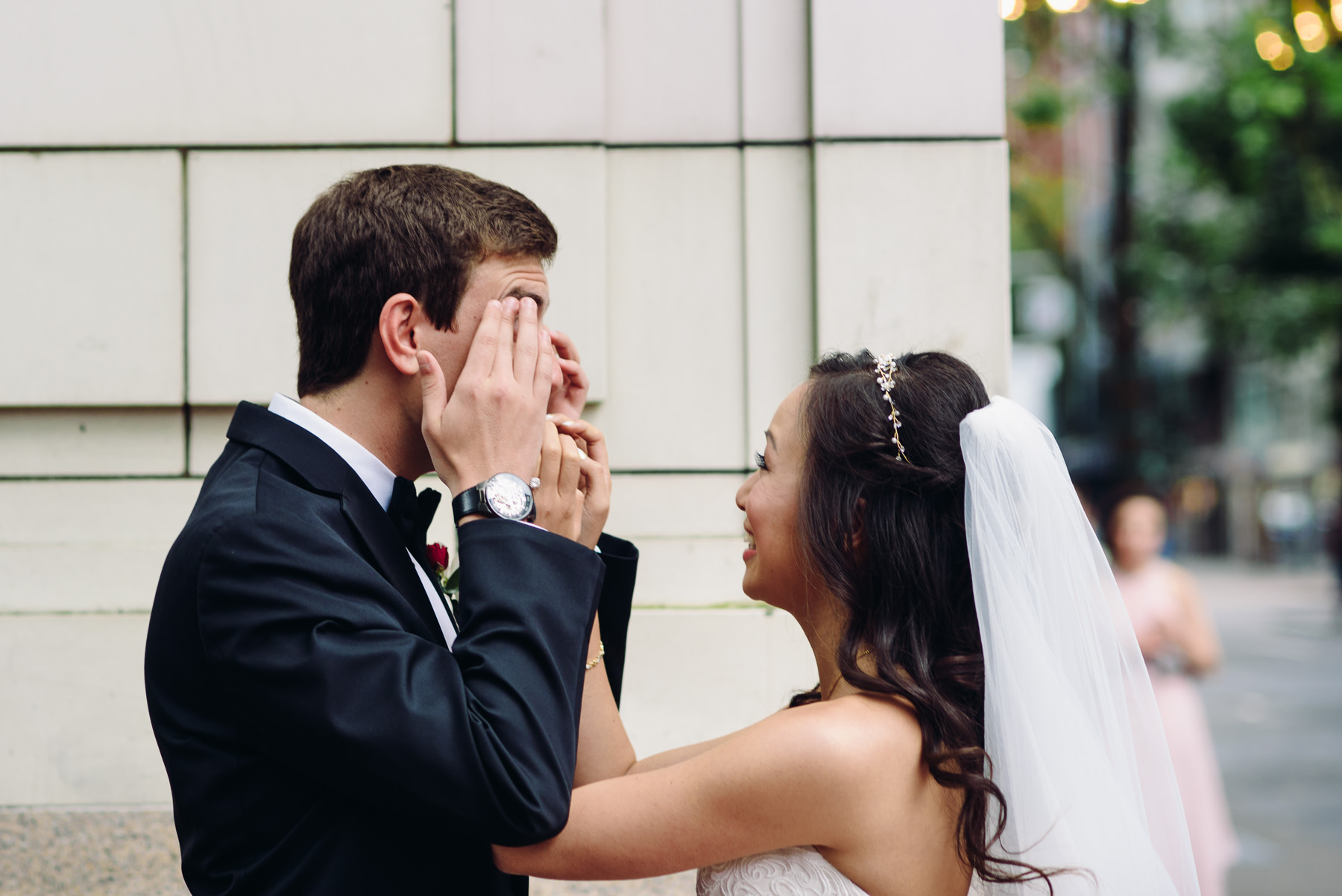 groom tears hotel monaco