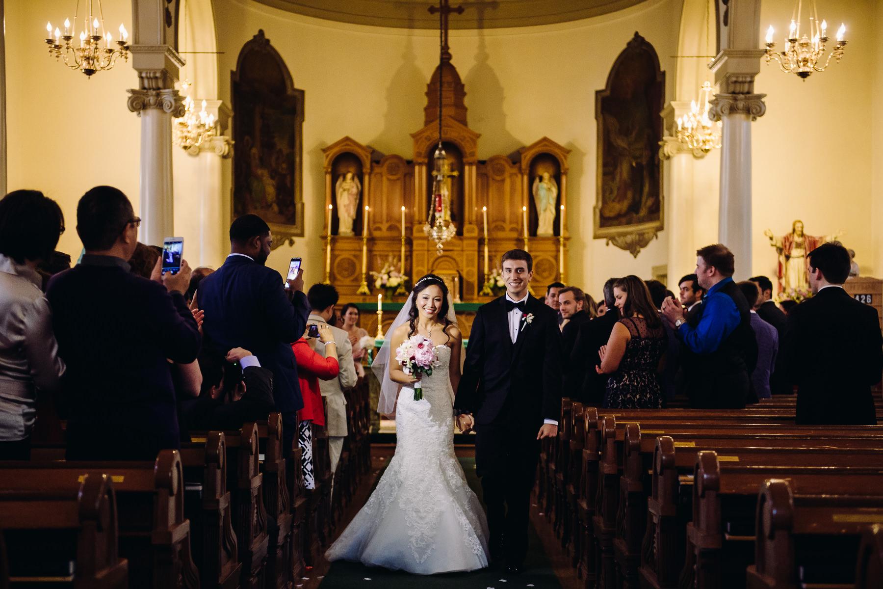 st. patrick church portland wedding