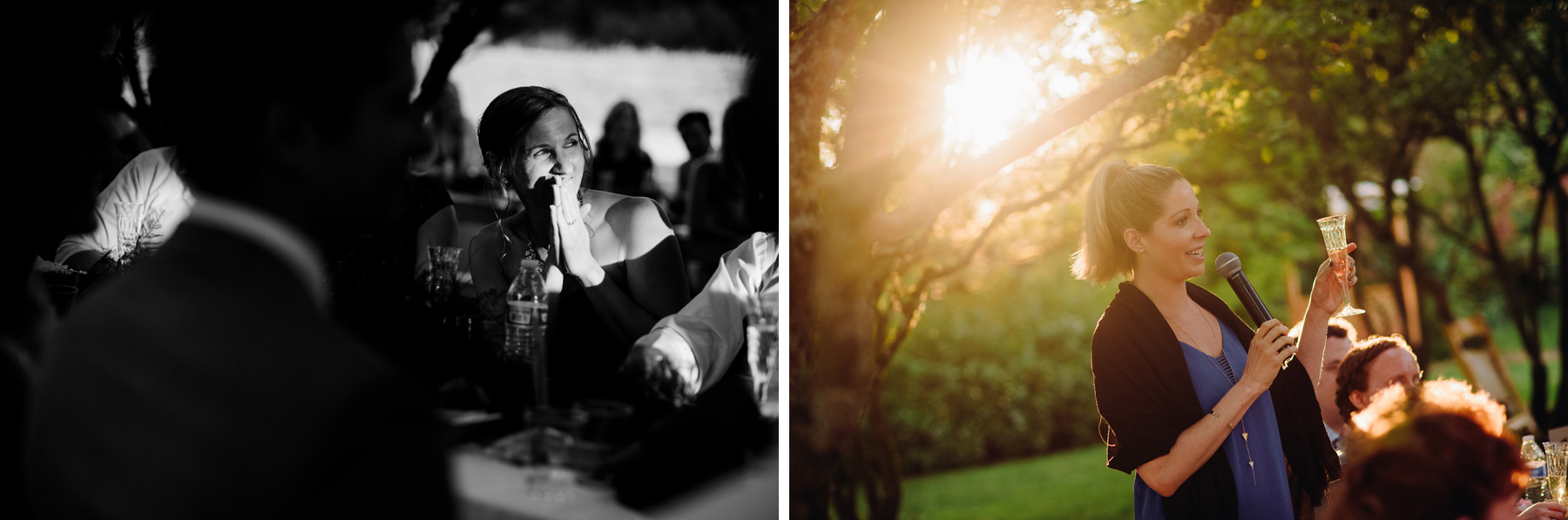 Center for Urban Horticulture Wedding toasts