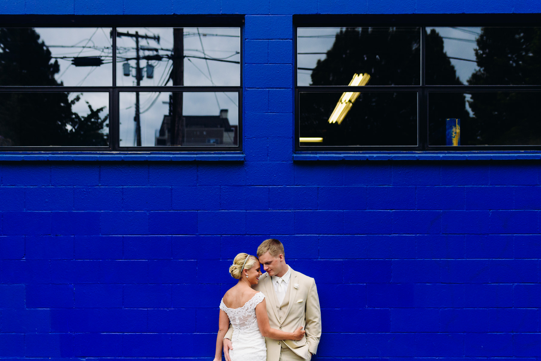 Fremont brewery wedding photos