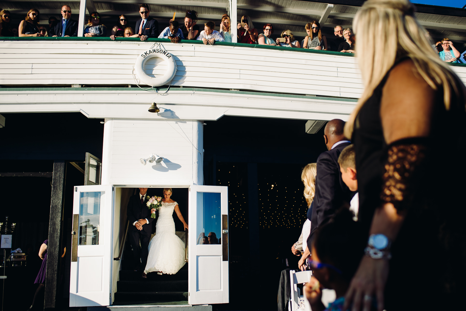 mv skansonia wedding ceremony