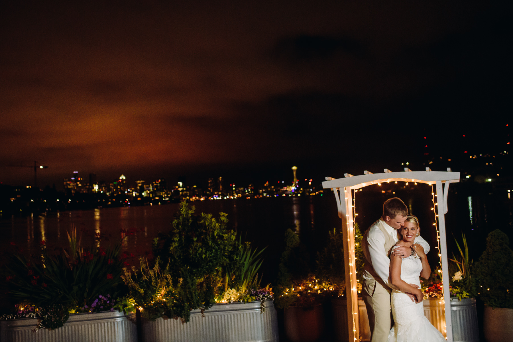 mv skansonia night wedding portrait