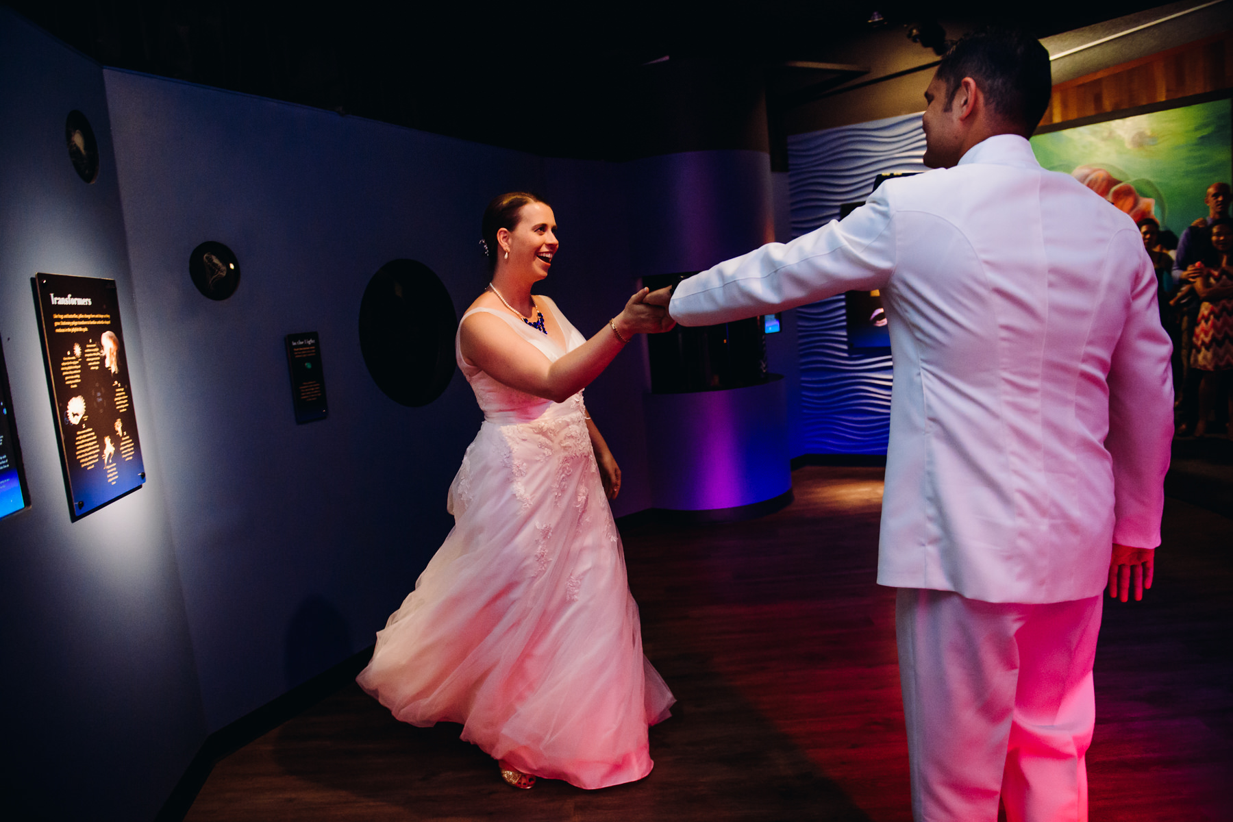 tacoma aquarium first dance