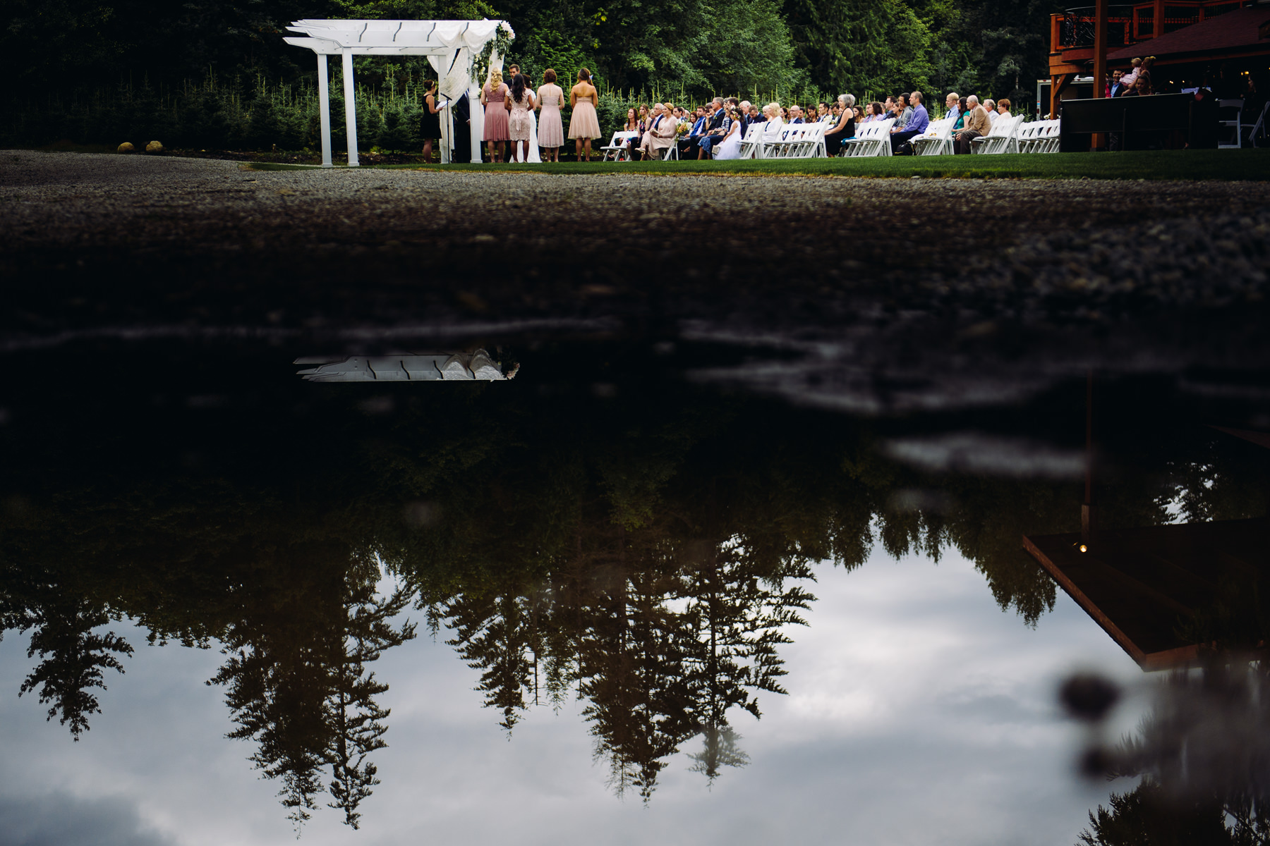 Trinity Tree Farm wedding ceremony