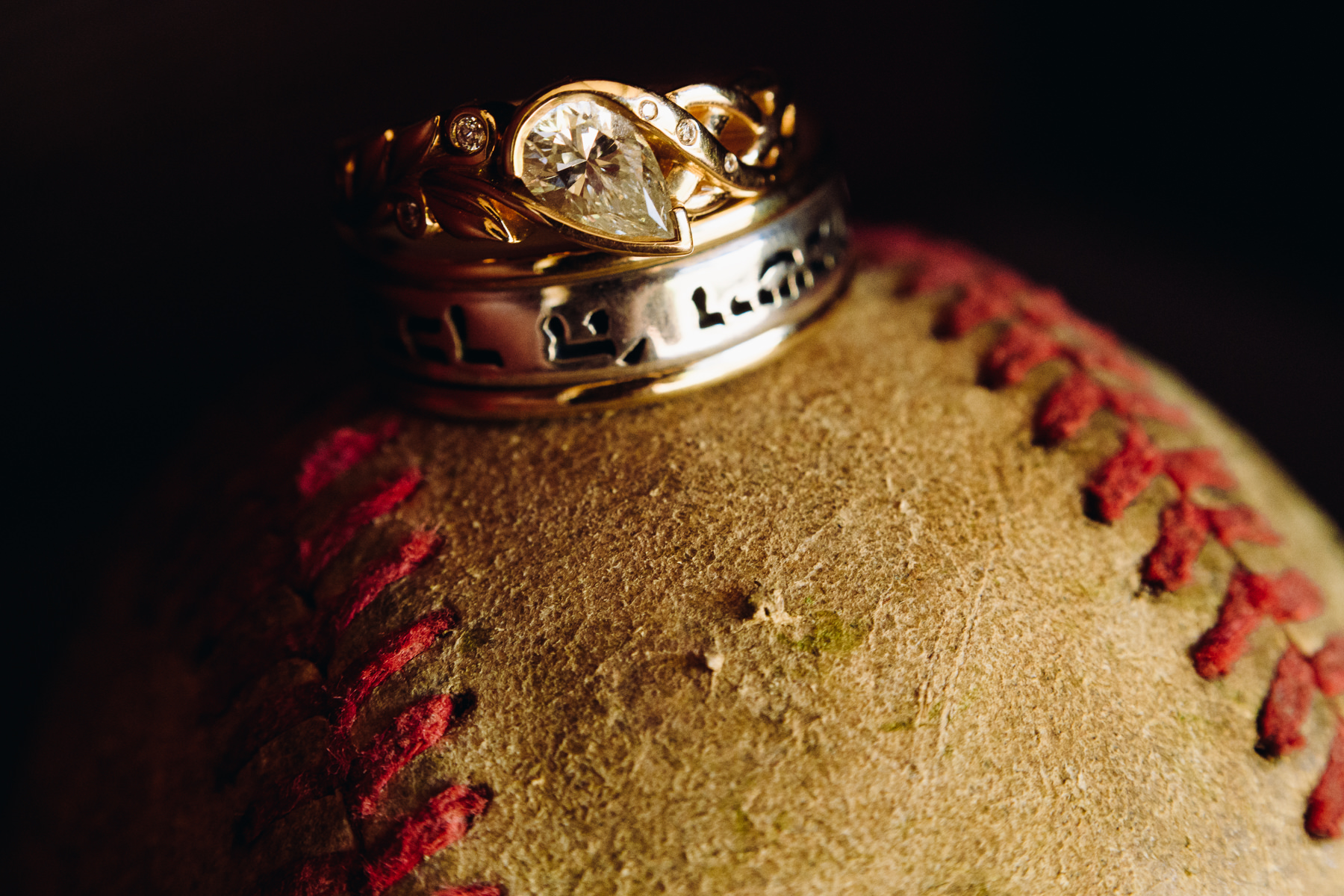 university of puget sound baseball field wedding