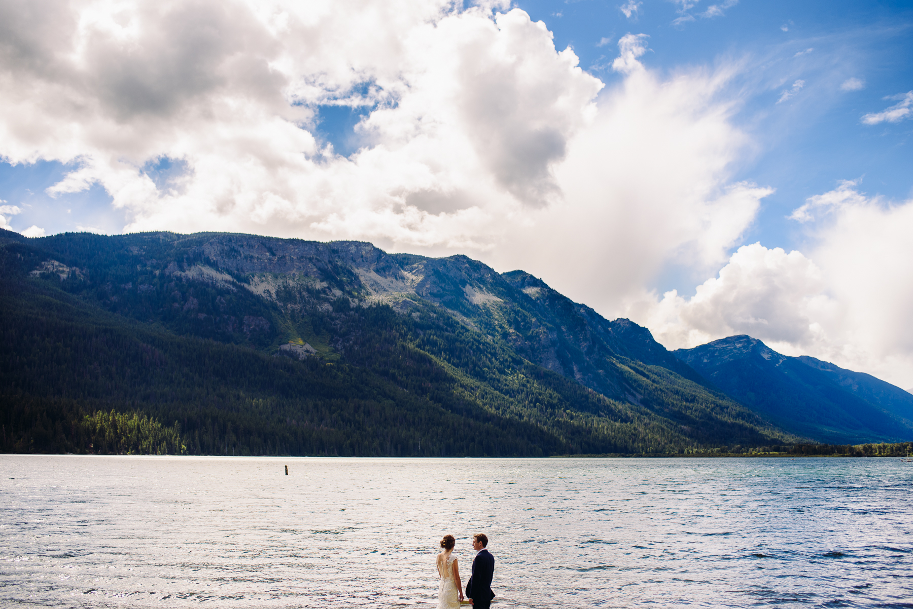 lake Wenatchee first look