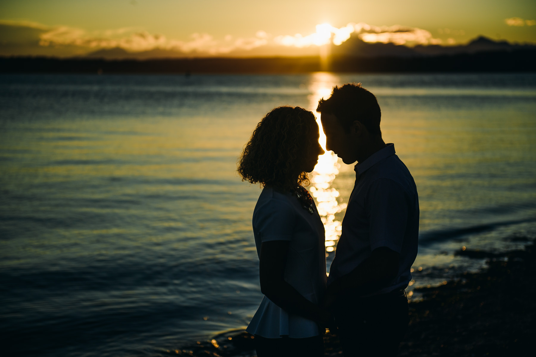creative sunset discovery park engagement