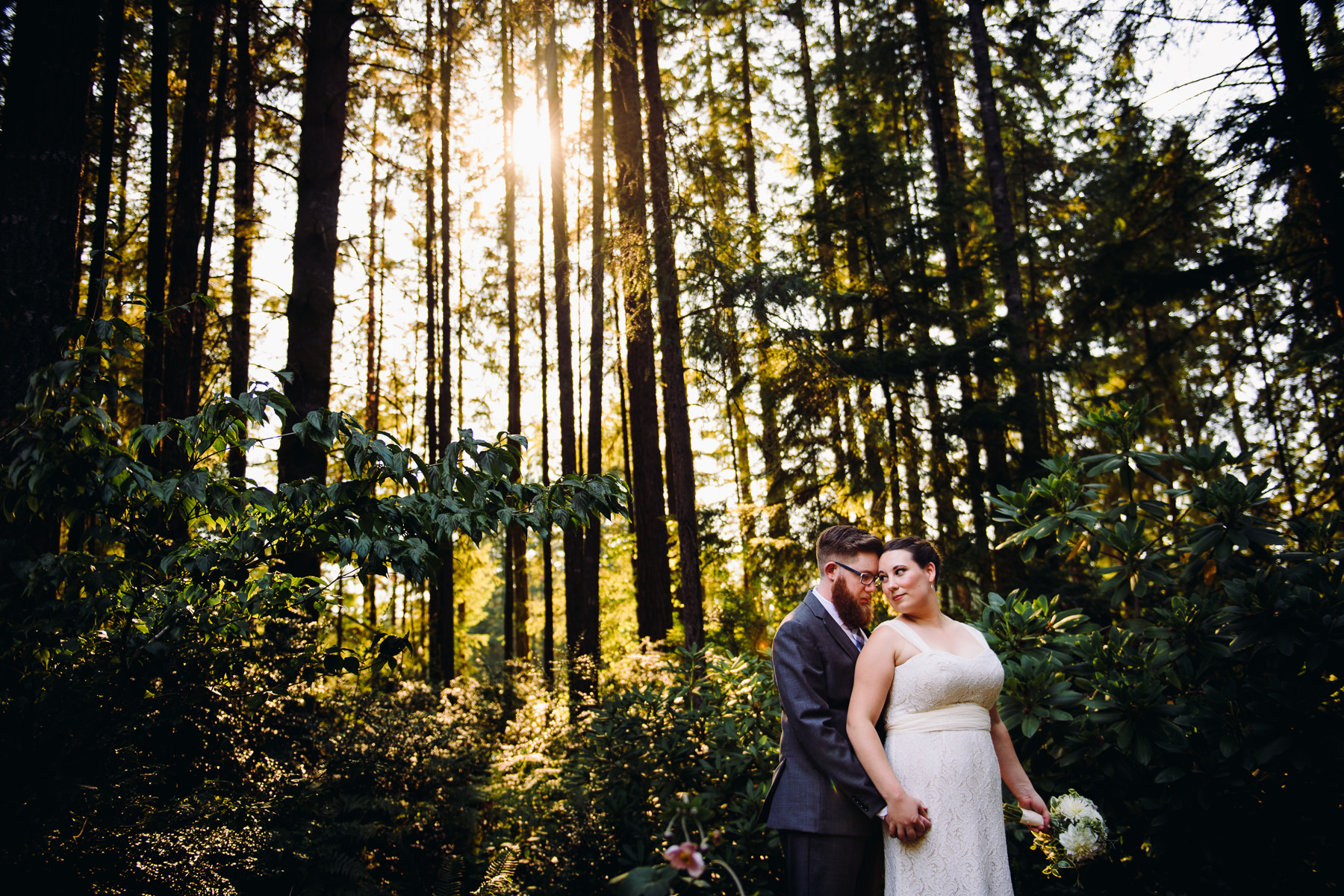 bremerton forest wedding