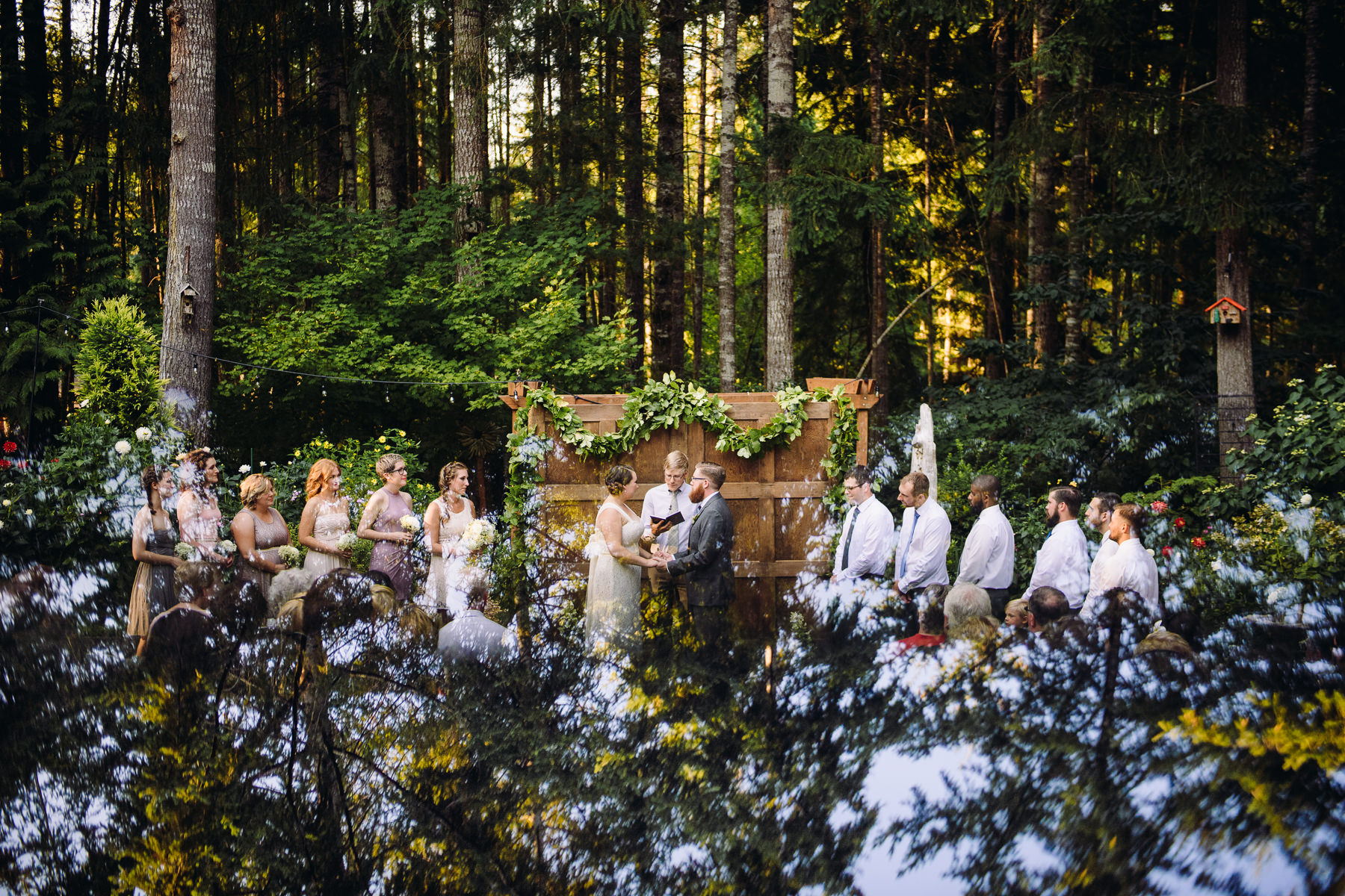 forest wedding seattle
