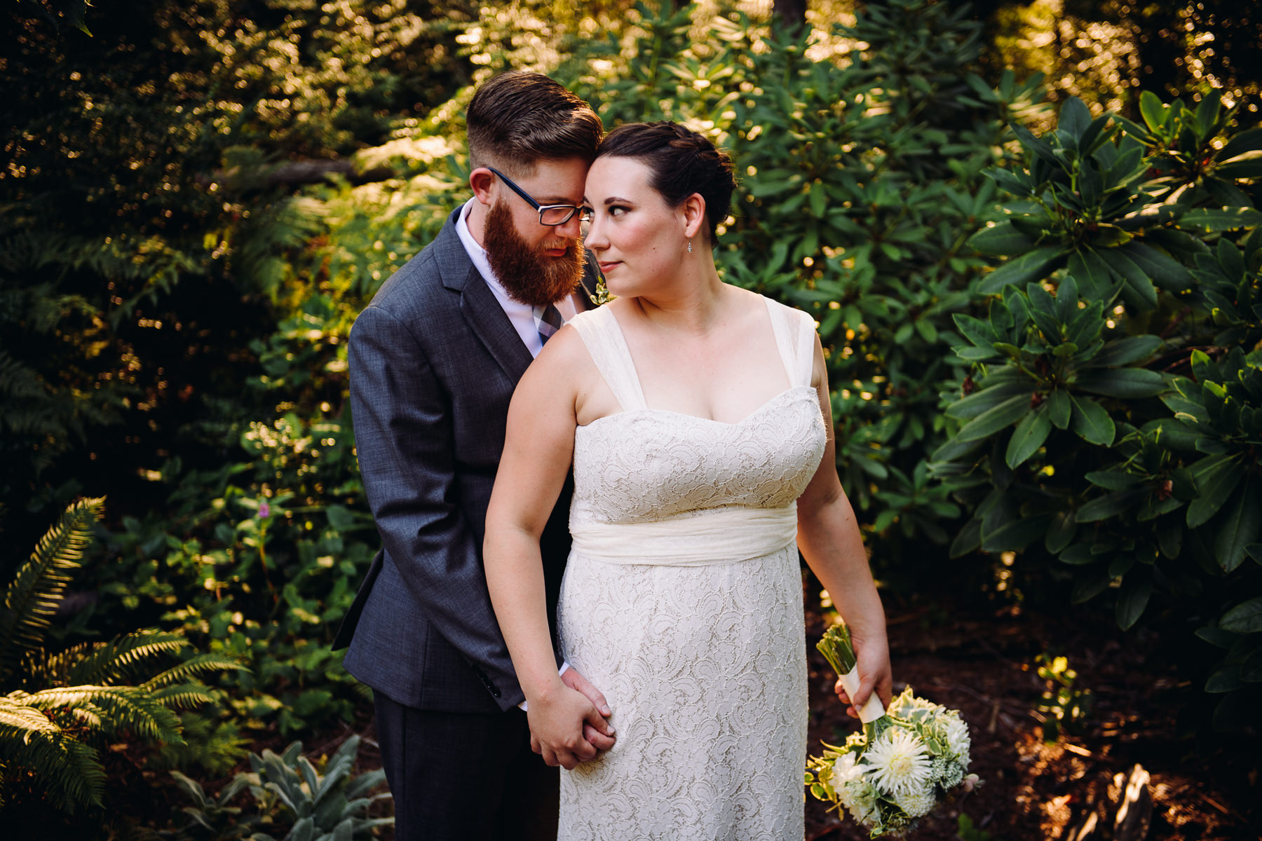 kitsap wedding portrait