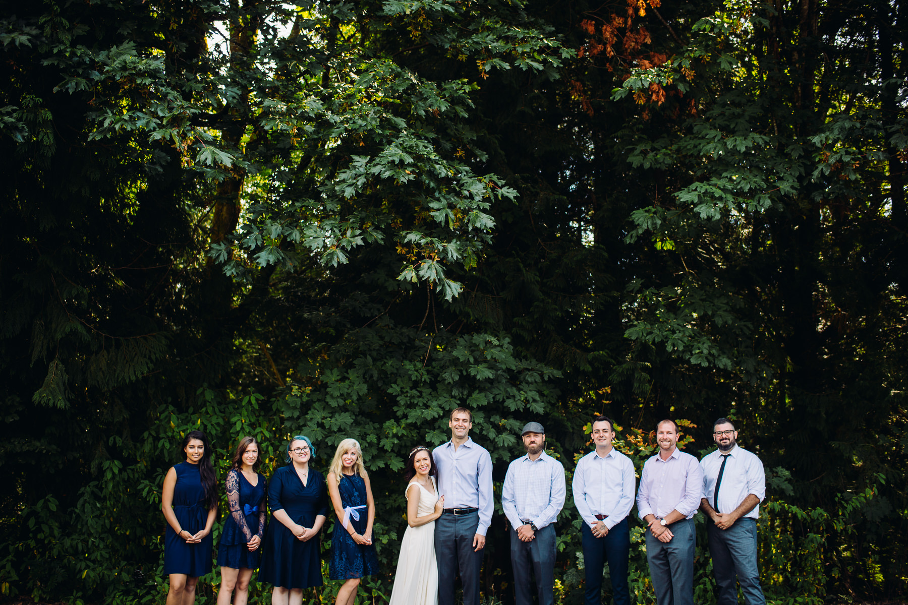 st. edward state wedding party