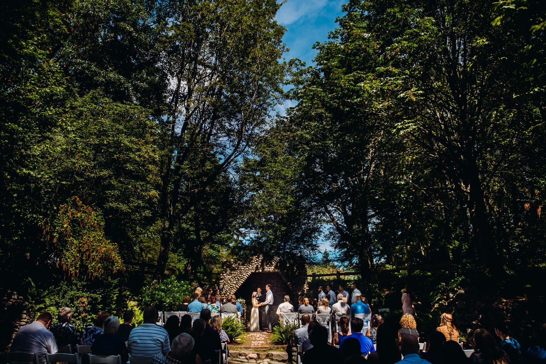 st. edward state park wedding ceremony