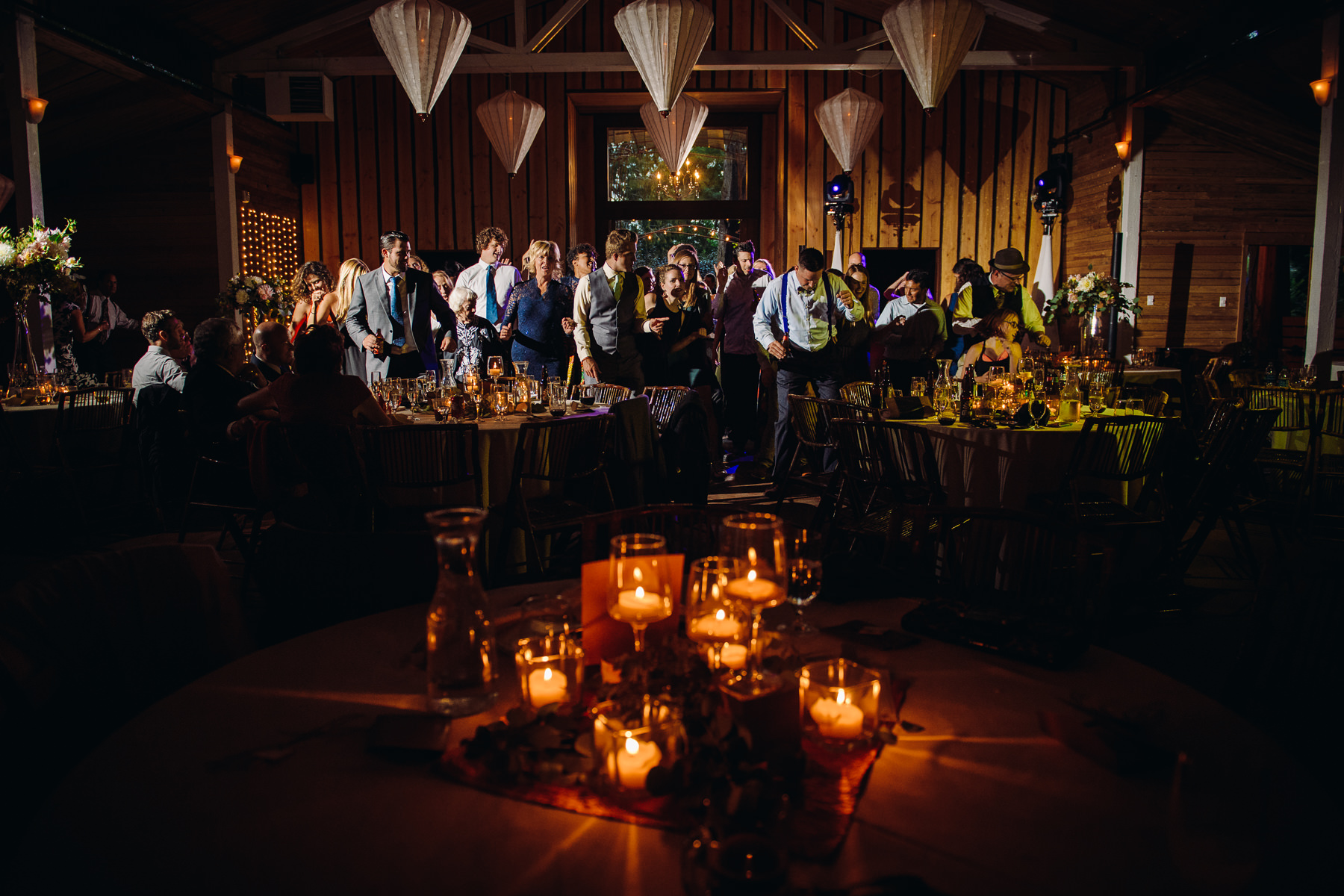 fireseed catering wedding reception