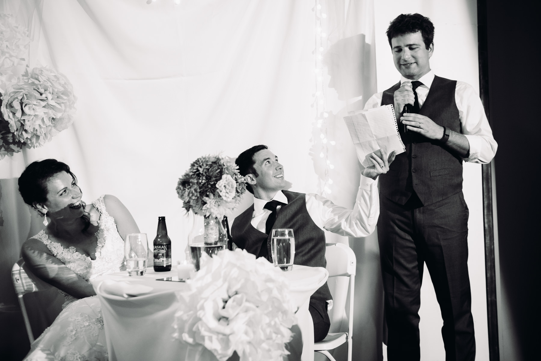 within sodo wedding toasts