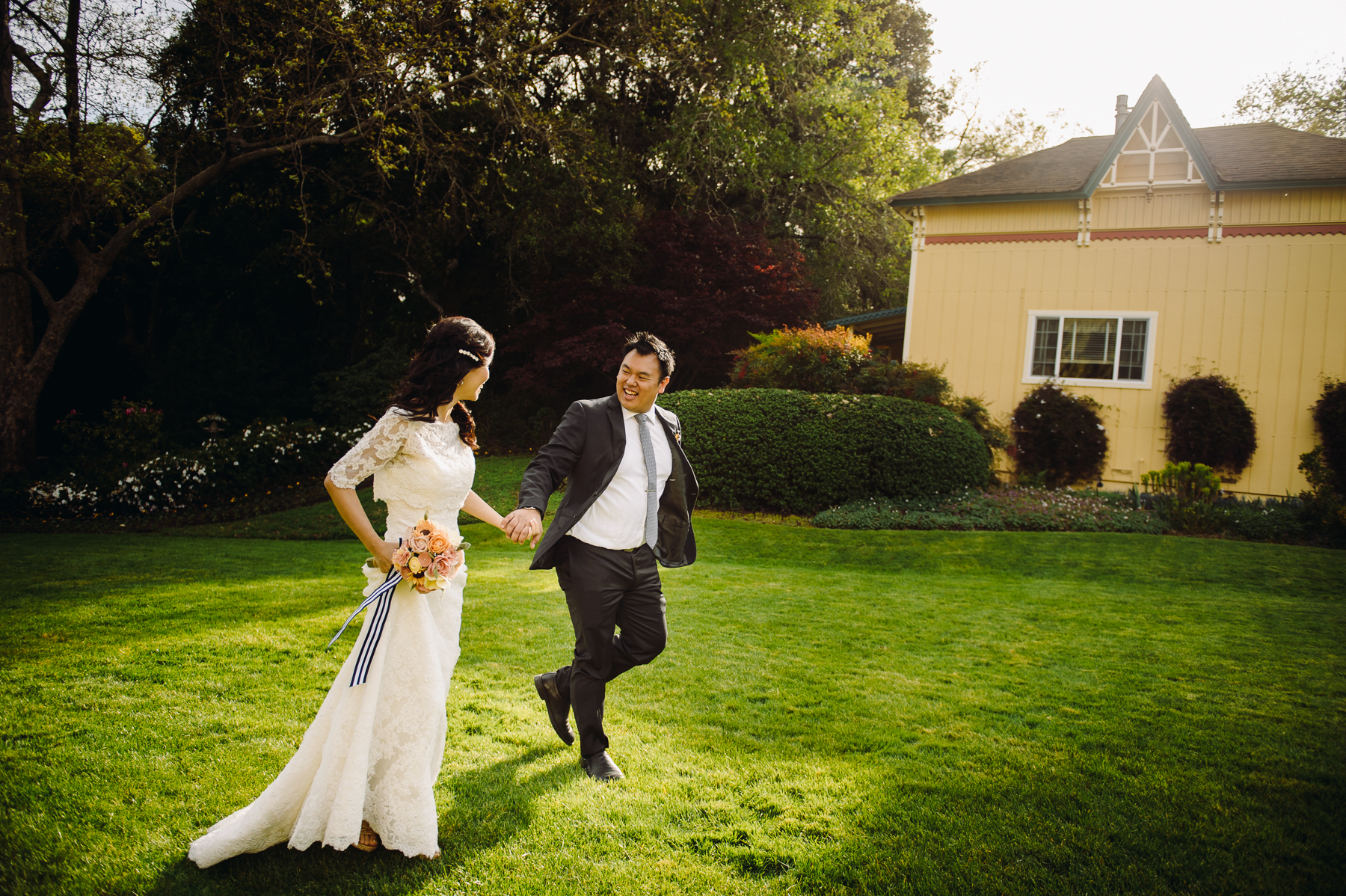 Madrona Manor Wedding celebrations
