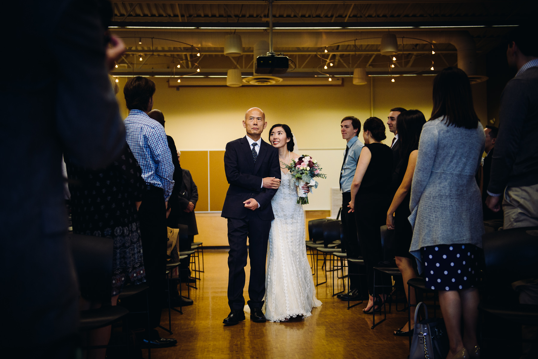 mercer island community event center wedding ceremony